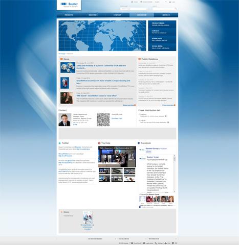 Newsroom | Baumer Group | Social Media Newsrooms | Scoop.it