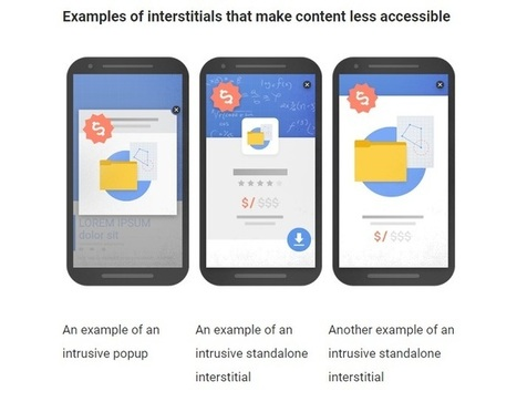 Google va pénaliser les interstitiels et les affreux pop-up | Communication pour TPE - PME | Scoop.it