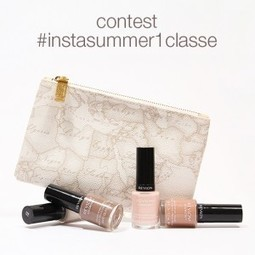 Gioca e vinci: contest Instagram Alviero Martini  1ᴬ Classe & Revlon! | Social media culture | Scoop.it