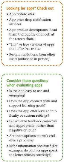 Touch and Grow: Learning and Exploring Using Tablets | National Association for the Education of Young Children | NAEYC TYC | Teaching Young Children Magazine | InfuseLearning | Scoop.it