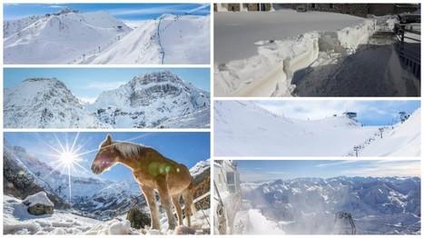[En images] Le Pic du Midi recouvert par un mètre de neige | Revue de Presse du Grand Tourmalet Pic du Midi | Scoop.it