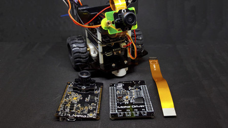 HICAT.Livera Machine Vision Board and Robot Kit Feature HiSilicon Hi3518 SoC (Crowdfunding) | Embedded Systems News | Scoop.it