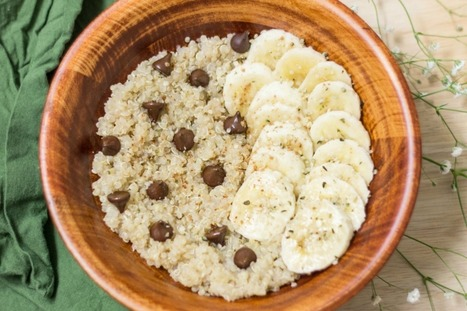 Warm and Cozy Breakfast Quinoa [Vegan, Gluten-Free] | Healthy Living Lifestyle | Scoop.it
