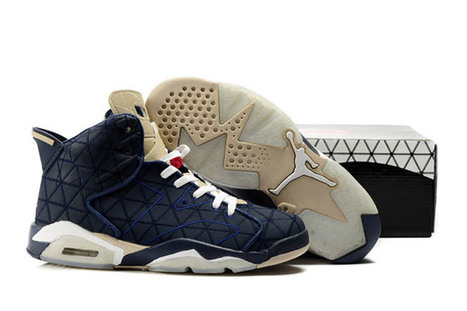 Dark Blue and Beige White Retro 6 Michael Jordan 6 Men Size for Sale | new and share list | Scoop.it