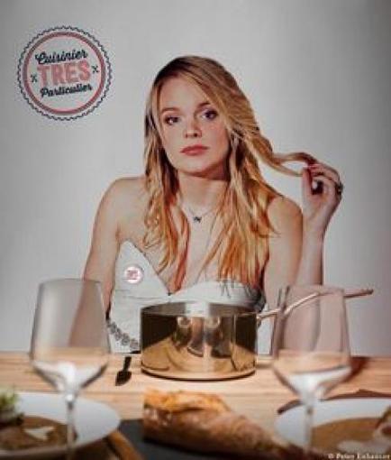 Quand une ex de Top Chef propose de venir cuisiner chez vous... nue   Advertising trends   Scoop.it