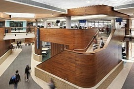 Uni learning hub streets ahead - The Age | learning spaces | Scoop.it