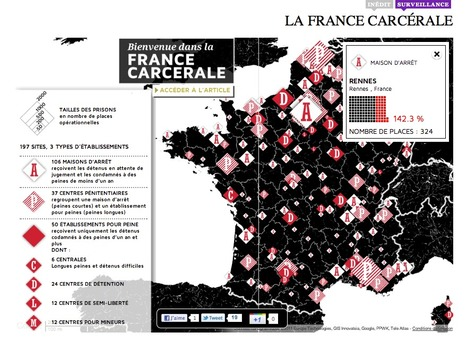 """Bienvenue dans la France carcérale 