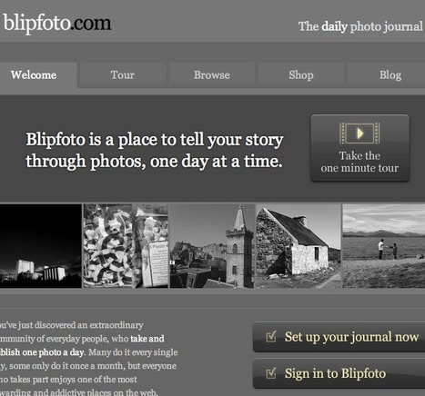 Blipfoto - the daily photo journal for everyone | Technology Ideas | Scoop.it