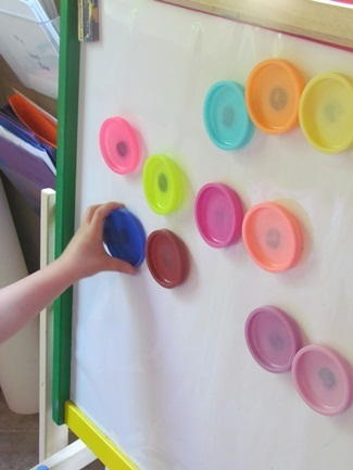 DIY play dough magnets for the magnetic board | Teach Preschool | Scoop.it