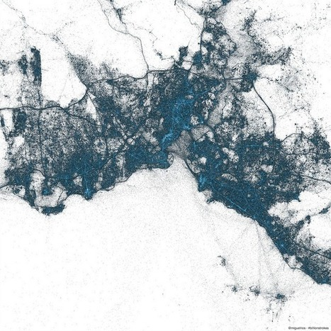 Billions of Geotagged Tweets Visualized in Twitter's Amazing Maps | e-Xploration | Scoop.it