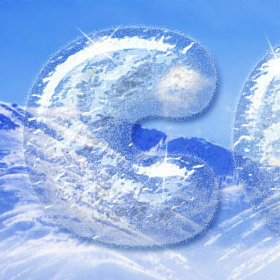 Simple Ice Text effect | textuts | Photoshop Text Effects Journal | Scoop.it