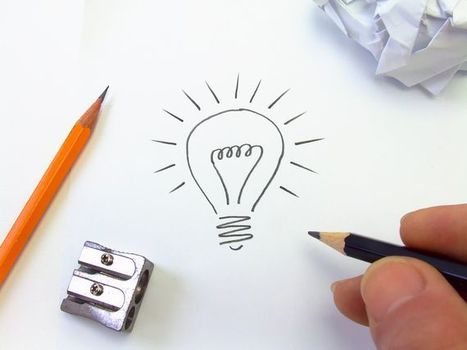 First Step in Making Your Ideas Happen – Sketching   Pixel 77   Startup Ideas   Scoop.it