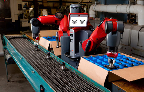 Robots and Humans, Learning to Work Together | Made Different | Scoop.it