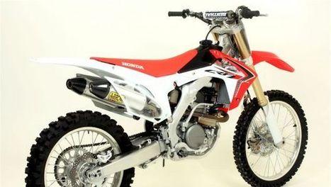 Kit Arrow per Honda CRF250R 2014 - Motoblog.it (Blog) | Dirt Biking | Scoop.it
