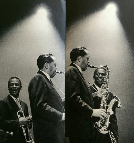 JazzyFarmer — Miles Davis and Lester Young by Ed van der Elsken.... | Jazz Plus | Scoop.it