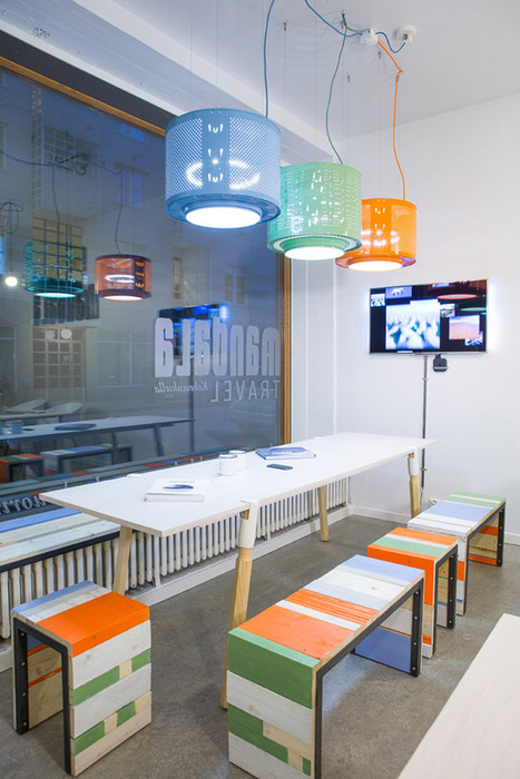 Reclaimed Furniture and Lighting | Sustainable Office and Public Spaces | Scoop.it