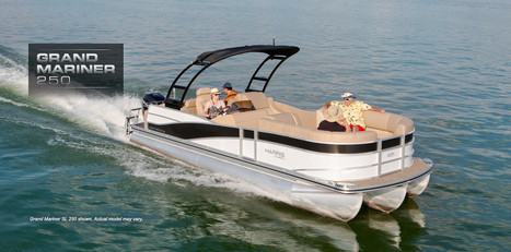Grand Mariner 250: Harris FloteBote Pontoon Boat   Family Boats   Pontoon Party Boat for Sale : 2014   Pontoon Boat   Scoop.it