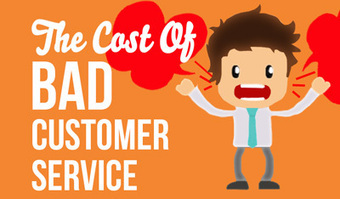 Bad Customer Service: What is it Costing Your Business | Information for Small Business | Scoop.it