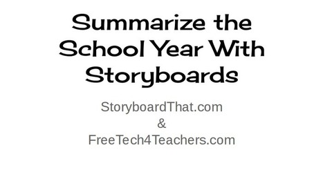 Free Technology for Teachers: Telling Stories With Storyboards - Webinar Recording | Digital Storytelling Tools, Apps and Ideas | Scoop.it