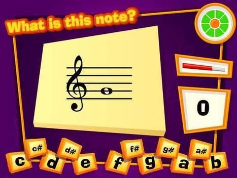 Jocs i entreteniments | Música Selvatge | Educación musical 2.0 | Scoop.it