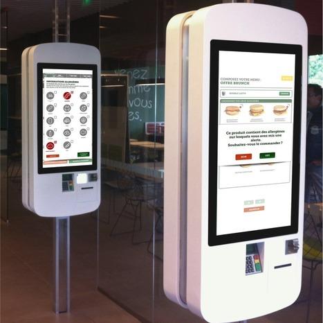 La nouvelle borne McDonald's France | mobile, digital and retail | Scoop.it