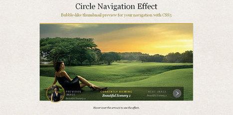 23 Best CSS3 Navigation Menu Tutorials | Webdesign | Wordpress | Joomla | Design | Scoop.it