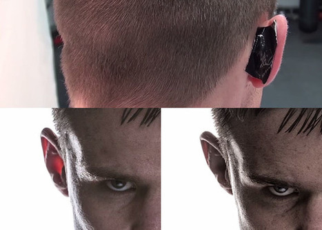 Tip: Place Some Gaffer Tape Behind Your Model's Ears to Remove Unsightly Glow   xposing world of Photography & Design   Scoop.it