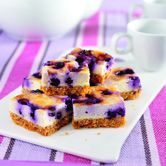 Sweet Treat: Reduced-Carb Cheesecake Bars : Diabetic Gourmet Magazine | Cookie Making Day Recipes | Scoop.it