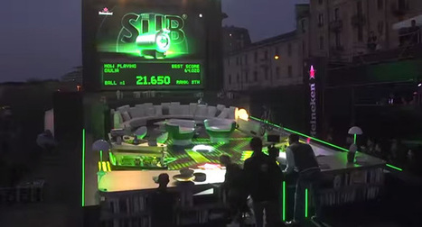 Un bar transformé en flipper géant par Heineken | Tendances publicitaires et marketing | Scoop.it