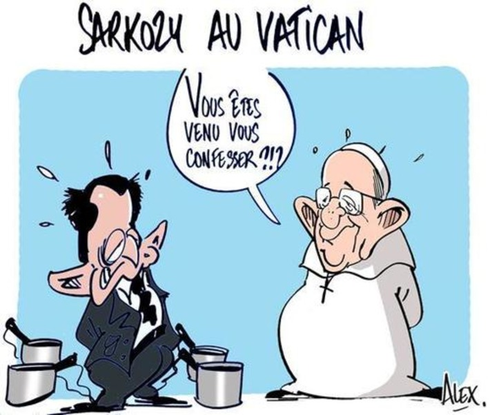 Sarkozy au Vatican | Baie d'humour | Scoop.it