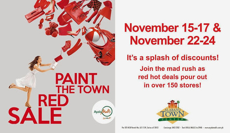 Paint The Town Red Sale 2013 | Baratillo | Scoop.it