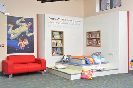 Gateshead  library design | School Library Design | Scoop.it
