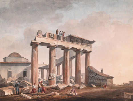 1800s watercolors at Getty Villa show an undiscovered ancient Greece | travelling 2 Greece | Scoop.it