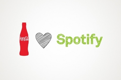 Spotify and Coca-Cola Partner To Share Music With The World | Music business | Scoop.it