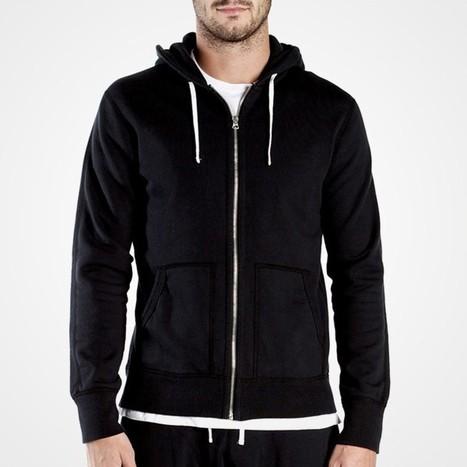 Full Zip Hoodie - Buy 10.5 oz. Full Zip Hoodie | Fantastic style of black vest top | Scoop.it