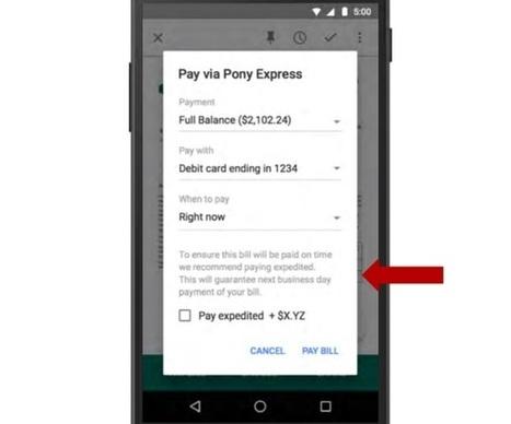Google permitirá receber e pagar contas direto no Gmail - Gizmodo Brasil | Innovate or perish | Scoop.it