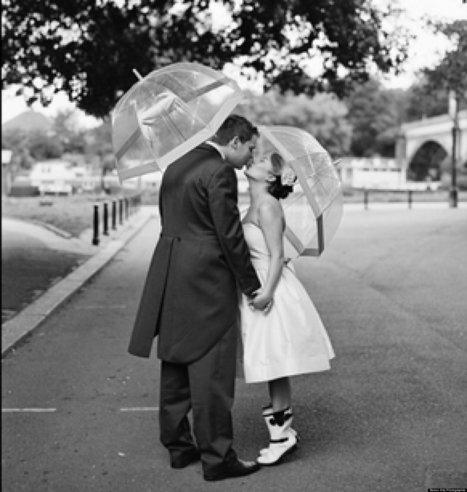 Kellee Khalil: Rainy Wedding Days (PHOTOS) | real weddings | Scoop.it