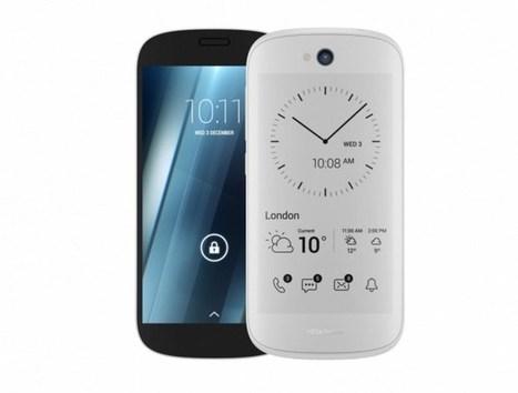 YOTAPHONE 2 - Le smartphone double écran E-Ink - Tinynews | e-paper - e-ink - le papier électronique - écran flexible | Scoop.it