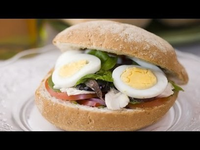 Pan Bagnat Sandwich Recipe - Traditional Provençal Sandwich | French Cuisine | Scoop.it