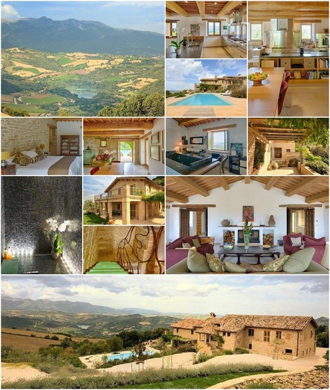 Best Le Marche Properties for Sale: Casolare Lo Smeriglio, Smerillo | Le Marche Properties and Accommodation | Scoop.it