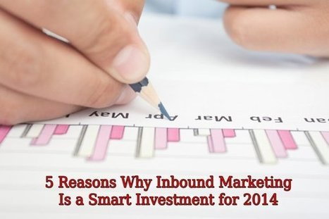 5 Reasons Why Inbound Marketing Is a Smart Investment for 2014 | digitalassetman | Scoop.it