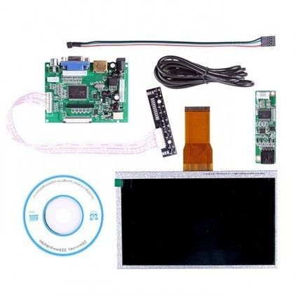 7 Inch TFT LCD Monitor For Raspberry Pi Touch Screen + Driver Board HDMI VGA 2AV | Raspberry Pi | Scoop.it