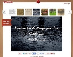 Quozio. Creer des images avec des citations | Output | Scoop.it