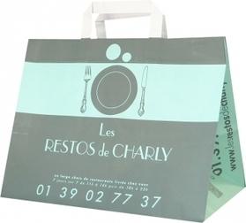 Avec le sac en papier traiteur, faites-vous livrer! - Le Sac Publicitaire   Sac papier publicitaire   Scoop.it