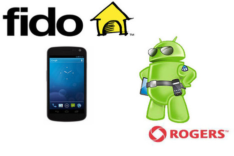 Galaxy Nexus headed towards Canada via Fido, Rogers   Do The Robot   Scoop.it