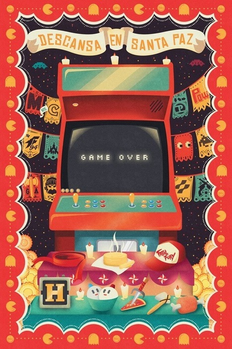 """Ofrenda a las Arcades""par  Adam Rufino 