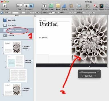 How do I use different images in the Table of Contents | Apple Mac Software training | Scoop.it