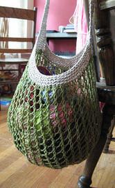 Grrlfriend Market Bag pattern by Laura Spradlin | Knit-of-the-Month Club | Scoop.it