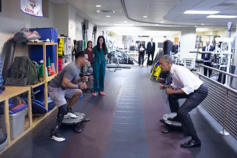 Obama's Sacred Duty: Visiting the Wounded at Walter Reed | Campus Mental Health Index - news & notes on related topics | Scoop.it