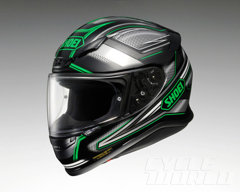 Five Fast Facts: Shoei RF-1200 New Snell-certified full-face motorcycle helmet ... - Cycleworld | Moto Riding Gear | Scoop.it
